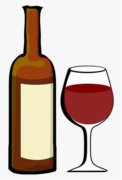 Wine Clipart Clip Glasses Cliparts Bottles