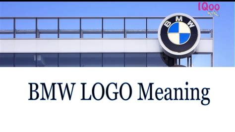 bmw logo meaning  history youtube