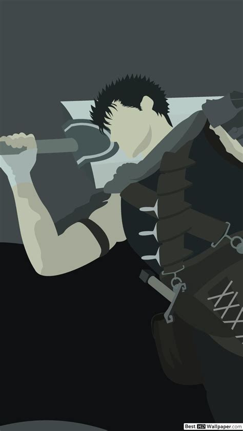 Berserk, anime, cool, badass, silhouette, one person, nature. 4k Berserk Phone Wallpapers - Wallpaper Cave