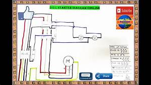 Direct Online Starter Dol Starter Control Circuit Diagram