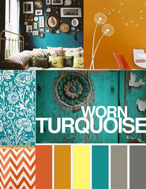 Living Room Color Schemes With Turquoise by Orange And Turquoise Color Palette Search Color