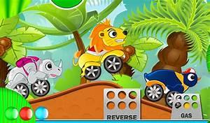 Rennspiele Tier Autos Fr Kinder Kostenlose Auto