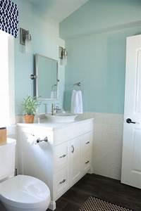 blue bathroom paint colors cottage bathroom benjamin With palladian blue bathroom
