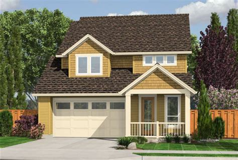 Small House Plans With Garage House Plan W3439v1 Detail