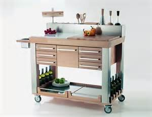 kitchen trolleys and islands modern kitchen trolleys shelterness