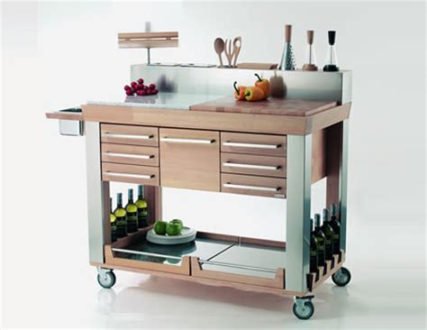 kitchen islands and trolleys modern kitchen trolleys shelterness 5245