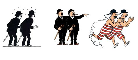 Comment différencier les amis de Tintin : Dupond et Dupont ...
