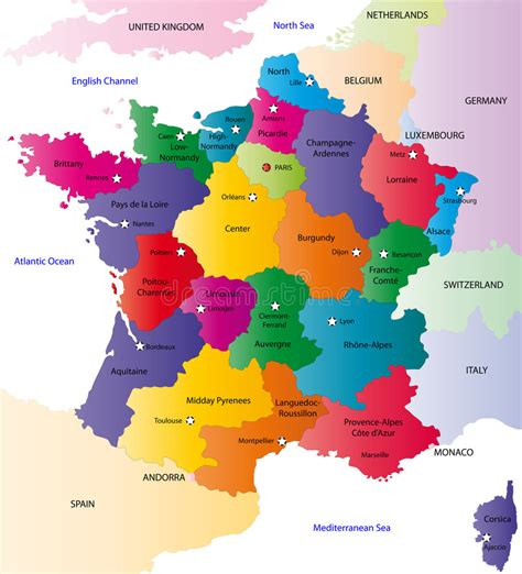 Carte De Image Libre by Carte De La De Vecteur Images Libres De Droits