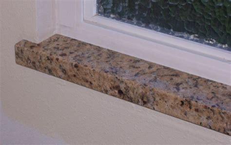 granite slab leftovers window sill