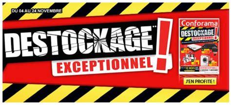 conforama d 233 stockage exceptionnel jusqu au 24 novembre
