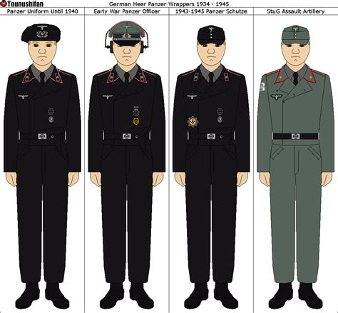 heer panzer uniforms by tounushifan on deviantart world war two german