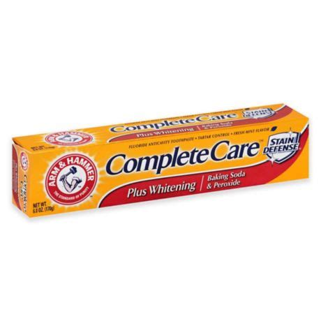 arm hammer  oz complete care  whitening toothpaste