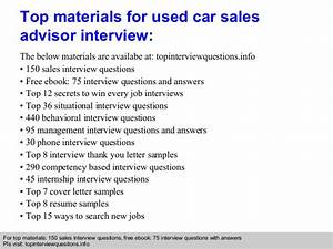 car sales representative job description used car sales advisor interview questions and answers