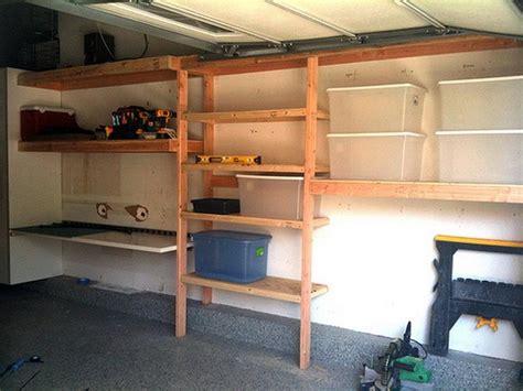 Garage Storage Shelves Mounted