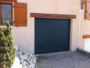 porte de garage avec volet roulant sur mesure pas cher With porte de garage sectionnelle avec serrurier paris 15