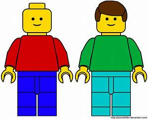 Cool clipart lego person - Pencil and in color cool ...