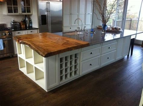 solid wood kitchen islands kitchen island with countertop from solid wood boards on 5613