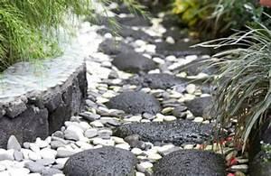 idees de decoration de jardin pas cher archzinefr With pierre pour deco jardin