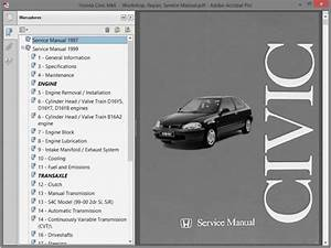 Honda Civic Mk6 Service Manual