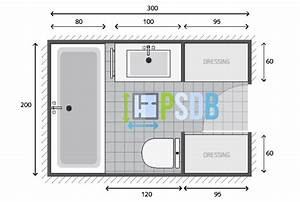 Plan plan salle de bain de 6m2 exemple de plan d for Plan amenagement salle de bain 6m2