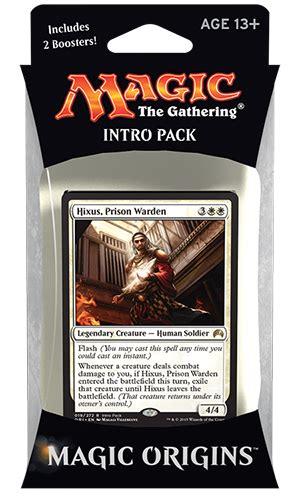 mtg intro decks origins packaging magic the gathering