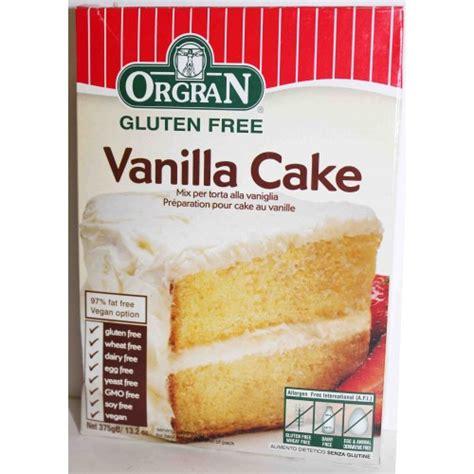 vanilla cake mix orgran vanilla cake mix 375g orgran ethical superstore