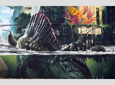 """Streets MadC – """"Jurassic Park Wall"""" Germany « Arrested"""