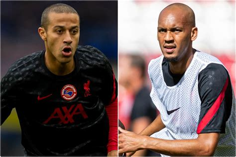 Thiago and Fabinho absent as Liverpool train for the first ...