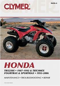 Honda Trx250x  1987 Sportrax  1993