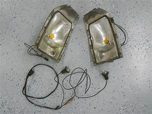 1963 Buick Riviera Turn Signal Cornering Light Housings