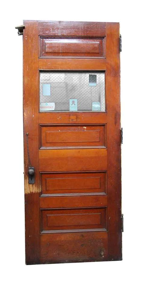 wooden door with glass panel salvaged wooden door with glass panel olde things 1958
