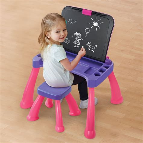 vtech touch and learn activity desk pink vtech touch and learn activity desk deluxe pink ezgifthouse