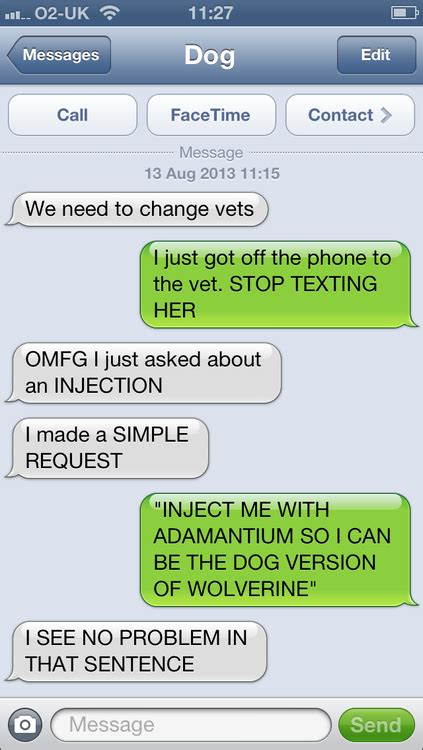 friday funny texts  dog  touch  cass