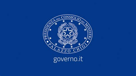 Governo Italiano Presidenza Consiglio Dei Ministri www governo it governo italiano presidenza consiglio