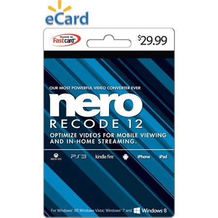 The ripping and converting specialist converts. Nero Recode 12 $29.99 eGift Card (Email Delivery) - Walmart.com