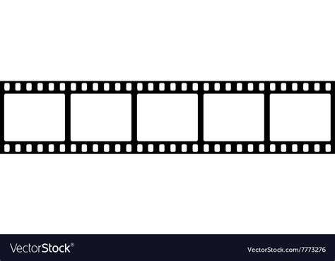 Templates Film by Template Film Roll Royalty Free Vector Image Vectorstock
