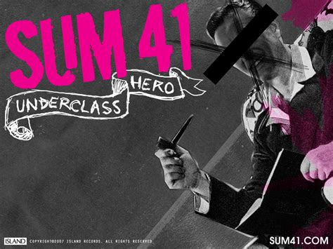 Sum 41 Images Sum 41 Hd Wallpaper And Background Photos