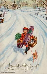Artikel Vor Weihnachten : neujahrskarten vor 100 jahren neujahr silvester ~ Haus.voiturepedia.club Haus und Dekorationen