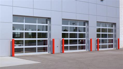 commercial garage door with door commercial garage doors professional door fixers