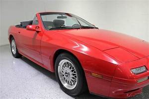 1989 Mazda Rx7 Convertible Rotary 1 3l R2 5 Speed Manual
