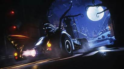 Batmobile Batman Knight Arkham 1989 4k Pack
