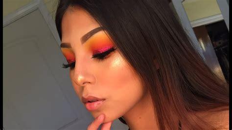 sunrisesunset makeup tutorial youtube