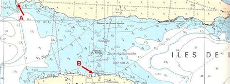 distance en milles nautiques entre 2 ports l 233 chelle d une carte les lignes de sonde culture maritime