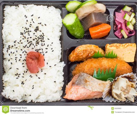 bento japanese cuisine bento japanese cuisine a single portion takeout stock photo image 55233062