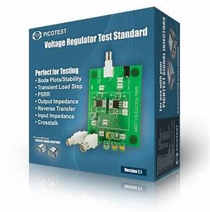 Picotest Vrts01 Voltage Regulator Test Standard Product