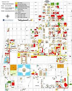 Campus Parking Map - Parking Department