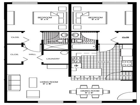 Luxury 2 Bedroom Floor Plans 2 Bedroom Floor Plan 30x30