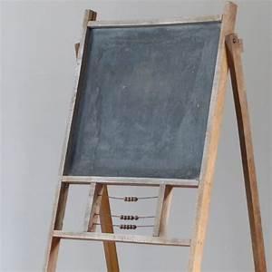 Tableau Aimanté Pour Photos : tableau noir pour enfant pliant lignedebrocante brocante ~ Teatrodelosmanantiales.com Idées de Décoration