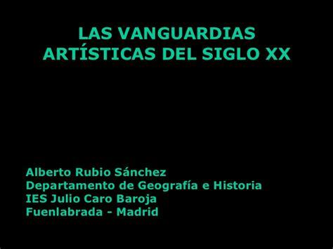 las vanguardias art 237 sticas del siglo xx