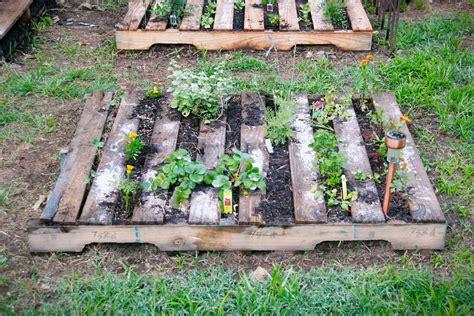 pallet garden ideas metalsgirl pallet garden